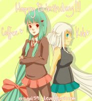 HBD- Long Haired Beauties by LochNesse
