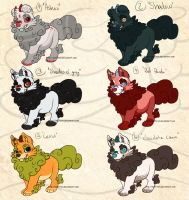Puppy Foo dog adoptables 3 -CLOSED- by Seffiron