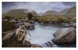 Glen River Faerie by garybonner
