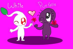 White and Purfella by wwiggles