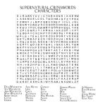 Supernatural Crossword by angiezinha