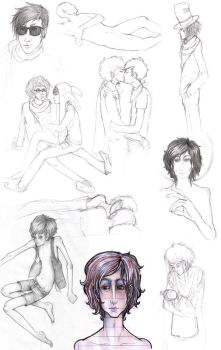 Sketchdump. by SirLemoncurd