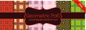 Cute Gometric Patterns by Romenig