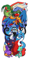 Pokemon Sleeve 7 by H0lyhandgrenade
