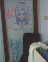 My Bedroom Whiteboard by ZiaReN