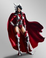 Lady Sif by jadenwithwings