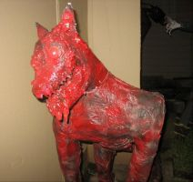 Resident Evil Halloween (Zombie Dog) by InsomniousMachinist