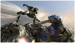 Halo 3 - Jump in by Sprykritic