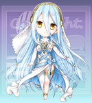 [Commission] fe159753 - Chibi by Teirads