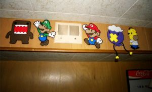 Foam Paper Mario Wall by TouchFuzzyGetDizzy