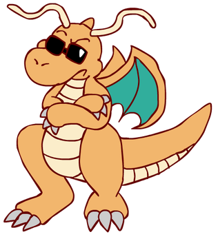 Saber's Dragonite by cazzyx3