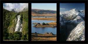 Contrasts of South Island by Inuksuk