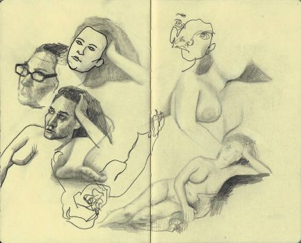 Misc Life Drawing by MatthewsArt