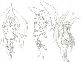 Angel Adoptables (CLOSED) by awildchelseaappeared
