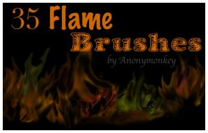 Brush the Flame by Anonymonkey