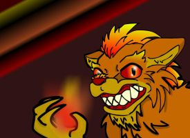 Ajax the Living Flame Thrower by avidlebon