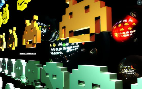 Space Invaders by Mortel3