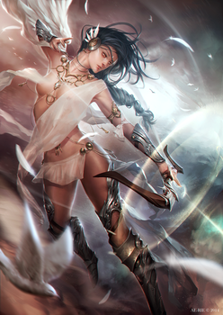 Wind Archer by ae-rie