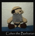 Cohen the Barbarian by Ginger-PolitiCat