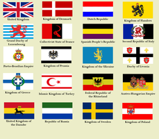 Flags of Europe 1925, Disaster at Leuthen by 22Direwolf