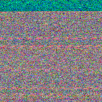 Video Turned into Audio Turned into an Image 5 by MegaBunneh