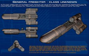 General Freighter - class unknown ortho [New] by unusualsuspex