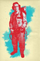 Ghostbuster Pastel Poster 3 by CaptainSenator