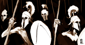 Greek Soldiers by benchowfat