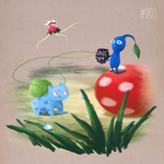 Pokemon and Pikmin Crossover ! by ArtDesChoix07