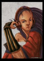 Red Lotus portrait by PepperProject