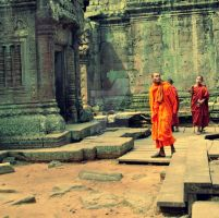 Monks by duhi