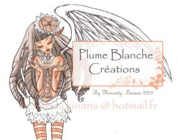 Plume Blanche by Mercredy