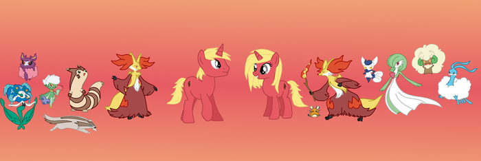 Heart, Crimson, and their teams by cullenster4