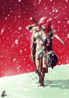 warrior by alexeuses