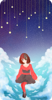 PRACTICE: Clouds/ Space by lynchees