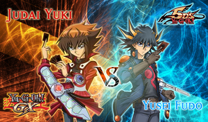 Judai Yuki Vs Yusei Fudo by jcxtreem