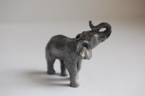 Stock 406 - Elephant Statuette by pink-stock