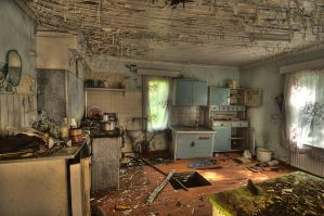 Abandoned House Workshop. by GaryTaffinder