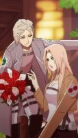 Flowers for my lady :SnK: by Samr0iD