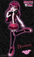 Draculaura Day at the Maul by Flooks