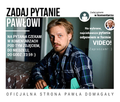 Infographic of chat with Pawel Domagala by volleyista