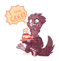 Dont give him cake! by Smushey