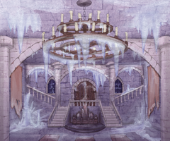 Level Design Mechanics - Great Hall Concept Art by Quattrochi