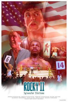ROCKY 2 - Sylvester Stallone - movie poster by P-Lukaszewski