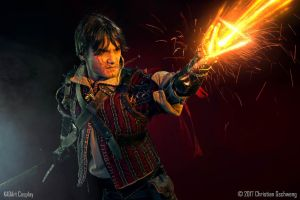 Igni / Eskel The Witcher 3 Wild Hunt Cosplay by KADArt-Cosplay