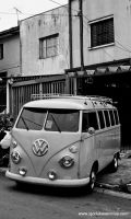 Great VW Kombi by IGORLUKAS