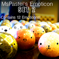 GIMP MsPastel's Emoticon Brush Set 2 by MsPastel