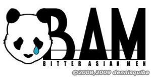 Bitter Asian Men Logo by SenseiUkyo
