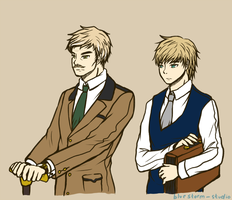 (Arthur/David) manners maketh man by BlueStorm-Studio