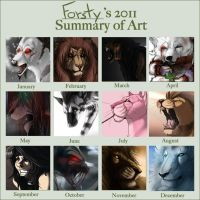 2011 Art Summary by forstyy